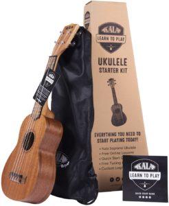 Kala Kit de Inicio Oficial para Aprender a Tocar Ukelele Soprano